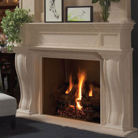 1144 577 fireplace stone mantel Vertical Dimension