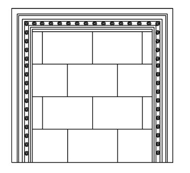 MONACO stone fireplace mantel spec sheet