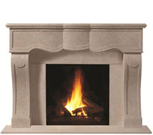1104.527 stone fireplace mantle surround in Philadelphia