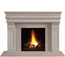 1106.511 stone fireplace mantle surround in Washington D.C.