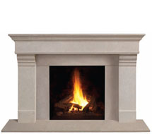 1110.556 stone fireplace mantle surround in Washington D.C.