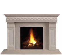 1110S.511 stone fireplace mantle surround in Philadelphia