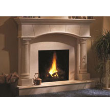 1130.70.531 stone fireplace mantle surround in Washington D.C.