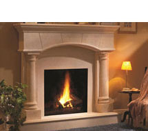 1130.80.531 stone fireplace mantle surround in Philadelphia