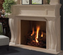 1144.577 stone fireplace mantle surround in Philadelphia