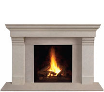1147.556 stone fireplace mantle surround in Washington D.C.