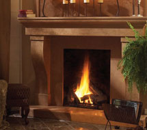 1147.599 stone fireplace mantle surround in Washington D.C.