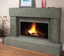 7701 stone fireplace mantle surround in Philadelphia