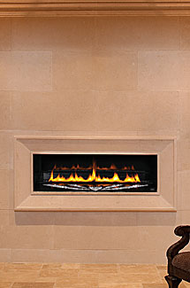 stone fireplace slabs