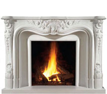 1100 stone fireplace mantle surround direct from us
