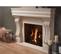 1106.11.538 stone fireplace mantle surround direct from us