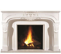 1107 stone fireplace mantle surround direct from us