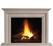 1114L stone fireplace mantle surround direct from us
