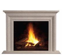 1114S stone fireplace mantle surround direct from us