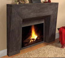 7703 stone fireplace mantle surround direct from us