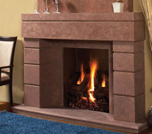 7704 stone fireplace mantle surround direct from us