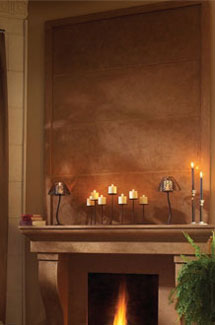 Cortessa stone fireplace overmantle surround direct from us